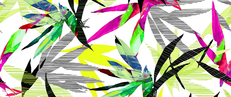 abstracted bamboo